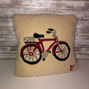 Beautiful loop woven throw pillow